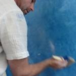 aktion mit seife auf kalk